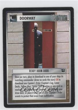 1997 Star Trek Customizable Card Game: First Contact - Expansion Set [Base] #RRDO - Ready Room Door