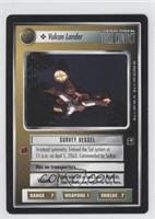 Vulcan Lander