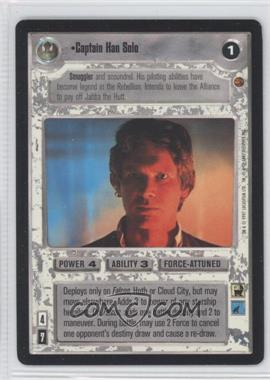 1997 Star Wars Customizable Card Game: Cloud City - Expansion Set [Base] #NoN - Captain Han Solo