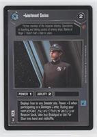 Lieutenant Cecius