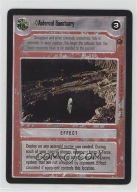1997 Star Wars Customizable Card Game: Dagobah - Expansion Set [Base] #ASSA - Asteroid Sanctuary