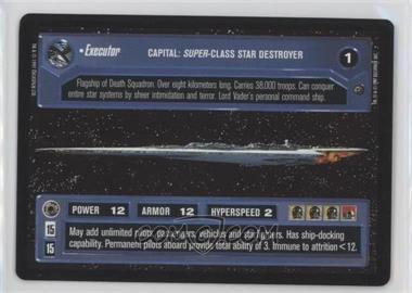 1997 Star Wars Customizable Card Game: Dagobah - Expansion Set [Base] #EXEC - EXECUTOR