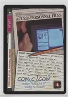 Access Personnel Files