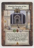 Ebonite Temple of the Black Stone
