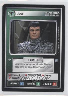 1998 Star Trek Customizable Card Game: Deep Space 9 - Expansion Set [Base] #NoN - Sorus