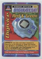Digivice - Red & Green