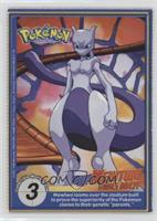 Mewtwo looms over the stadium...