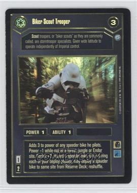 1999 Star Wars Customizable Card Game: Endor - Expansion Set [Base] - Foil #NoN - Biker Scout Trooper
