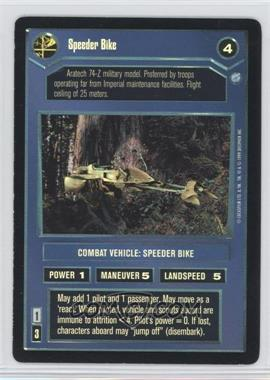 1999 Star Wars Customizable Card Game: Endor - Expansion Set [Base] - Foil #NoN - Speeder Bike