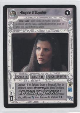 1999 Star Wars Customizable Card Game: Endor - Expansion Set [Base] #DASK - Daughter Of Skywalker