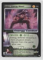 Goku Energy Blast!