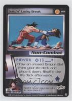 Goku's Lucky Break