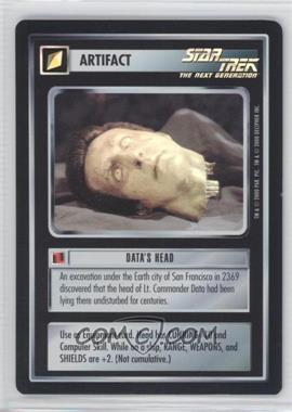 2000 Star Trek Customizable Card Game: Reflections (The First Five Year Mission) - Foil Expansion Set #NoN - Data's Head