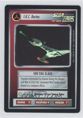 2000 Star Trek Customizable Card Game: Reflections (The First Five Year Mission) - Foil Expansion Set #NoN - I.K.C. Bortas