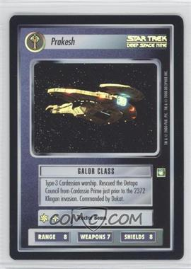 2000 Star Trek Customizable Card Game: Reflections (The First Five Year Mission) - Foil Expansion Set #NoN - Prakesh