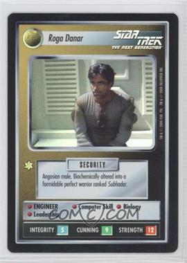 2000 Star Trek Customizable Card Game: Reflections (The First Five Year Mission) - Foil Expansion Set #NoN - Roga Danar