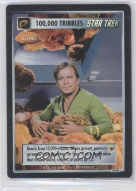 2000 Star Trek Customizable Card Game: The Trouble With Tribbles - First Edition [Base] #135 RF - 100,000 Tribbles