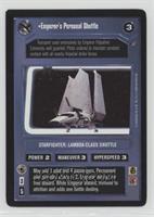 Emperor's Personal Shuttle
