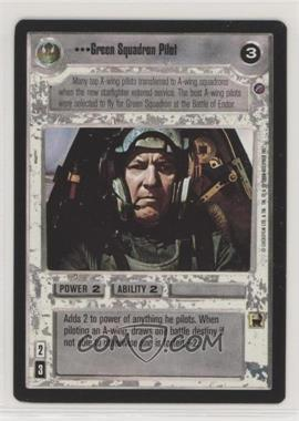 2000 Star Wars Customizable Card Game: Death Star II Limited - Expansion Set [Base] #GSPI - Green Squadron Pilot