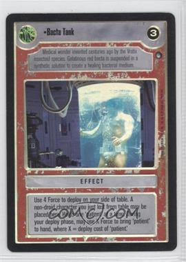 2000 Star Wars Customizable Card Game: Reflections 2 - Foil Reprint Pack #NoN - Bacta Tank