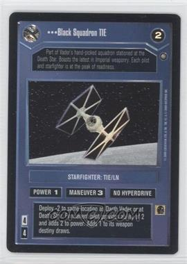 2000 Star Wars Customizable Card Game: Reflections 2 - Foil Reprint Pack #NoN - Black Squadron TIE