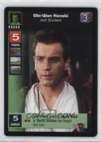 Obi-Wan Kenobi, Jedi Student