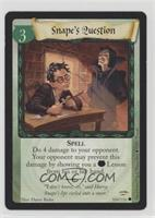Snape's Question (Promo Stamp)