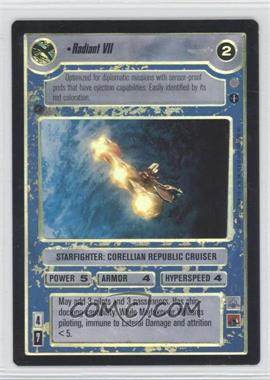 2001 Star Wars Customizable Card Game: Coruscant - Expansion Set [Base] #NoN - Radiant VII