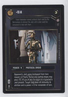 2001 Star Wars Customizable Card Game: Coruscant - Expansion Set [Base] #NoN - TC-14