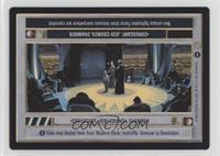Coruscant: Jedi Council Chamber