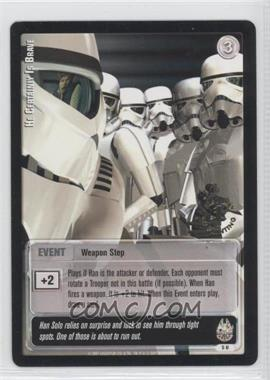 2001 Star Wars: Jedi Knights Trading Card Game - Booster Pack [Base] - 1st day Printing #5 - He Certainly is Brave