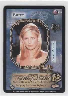 2002 Buffy the Vampire Slayer Collectible Card Game - Class of '99 [Base] #239 - Buffy