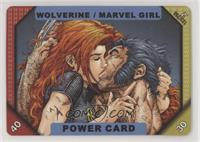 Power Card - Wolverine, Marvel Girl