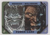 Power Card - Wendigo, Wolverine