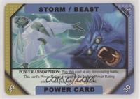Power Card - Storm, Beast