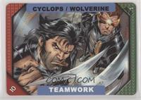 Teamwork - Cyclops, Wolverine