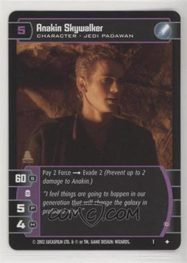 2002 Star Wars: The Trading Card Game - - Assorted Promos [Base] #1 - Anakin Skywalker (Star Wars Insider Magazine Promo)