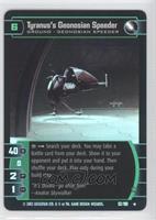 Tyranus's Geonosian Speeder