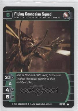 2002 Star Wars: The Trading Card Game - Attack of the Clones - Booster Pack [Base] #136 - Flying Geonosion Squad