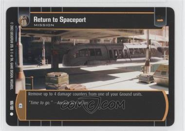 2002 Star Wars: The Trading Card Game - Attack of the Clones - Booster Pack [Base] #166 - Return to Spaceport