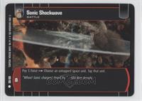 Sonic Shockwave