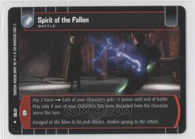 2002 Star Wars: The Trading Card Game - Attack of the Clones - Booster Pack [Base] #47 - Spirit of the Fallen