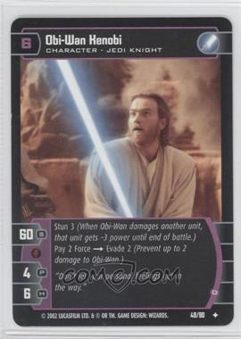 2002 Star Wars: The Trading Card Game - Sith Rising - Booster Pack [Base] #49 - Obi-Wan Kenobi