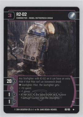 2004 Star Wars: The Trading Card Game - Return of the Jedi - Booster Pack [Base] #60 - R2-D2
