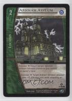 Arkham Asylum [Noted]
