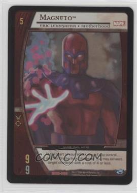 2004 VS System Marvel Origins - Booster Pack [Base] - Unlimited Foil #MOR-080 - Magneto (Full-Art Promo)