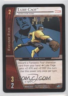 2004 VS System Marvel Origins - Booster Pack [Base] - Unlimited #MOR-053 - Luke Cage