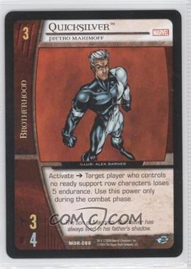 2004 VS System Marvel Origins - Booster Pack [Base] - Unlimited #MOR-088 - Quicksilver