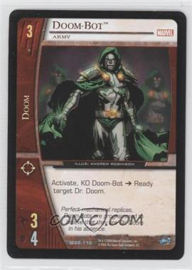 2004 VS System Marvel Origins - Booster Pack [Base] - Unlimited #MOR-110 - Doom-Bot