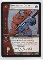 Manhunter Giant [Noted]
